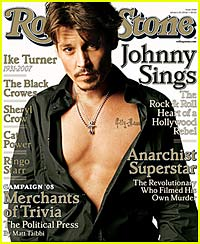 Johnny Depp is a Sexy Rolling Stone