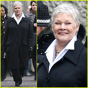 Judi Dench Shoots Bond 22