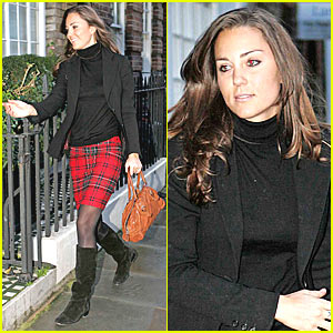 Kate Middleton is a Plaid Princess