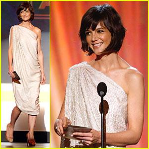 Katie Holmes @ Critics Choice Awards 2008