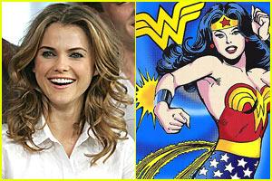 Keri Russell is Wonder Woman
