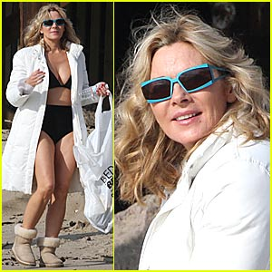 Kim Cattrall is a Garbage Buster