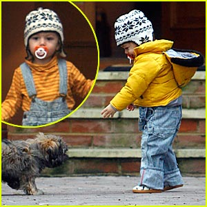 Kingston Rossdale's Puppy Love