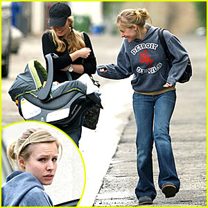 Kristen Bell is a Mommy in the Making