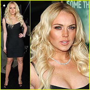 Lindsay Lohan @ 'Cloverfield' Premiere