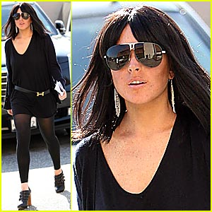Lindsay Lohan Wigs Out at Traffic School