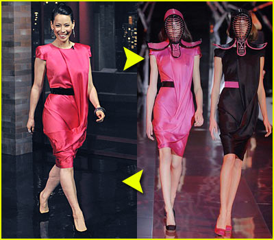 Fashion Faceoff: Alexander McQueen Dress