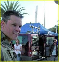 Matt Damon Enters the Green Zone