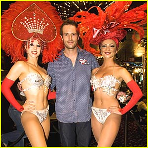Michael Vartan and His Feathered Friends