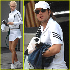 Nicole Kidman & Keith Urban: Peep Our Matching Tennis Outfits!