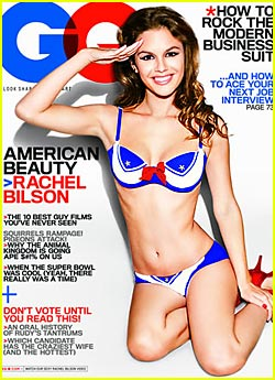 Rachel Bilson: Red, White and Blue Bikini
