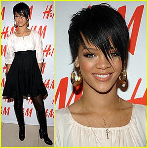 Rihanna @ H&M's Fashion Against AIDS