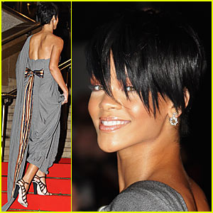 Rihanna Has Super Short Hair