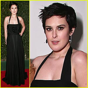 Rumer Willis Supports The Art of Elyisum