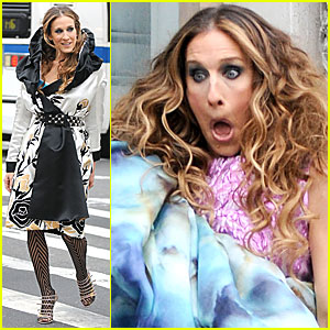 Sarah Jessica Parker is Surprised