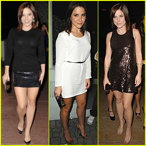 Sophia Bush Kicks Off 2008 in South Beach