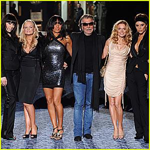 Spice Girls Hit the Roberto Cavalli Runway