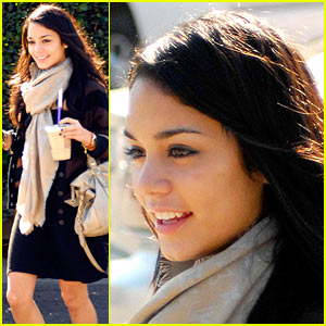 Vanessa Hudgens Does Coffee Tawk