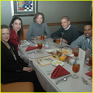 Wentworth Miller Family Photo