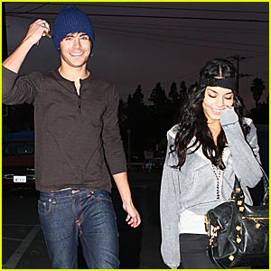 Zanessa's First Date of 2008