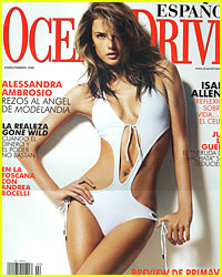Alessandra Ambrosio Looking Not So Pregnant