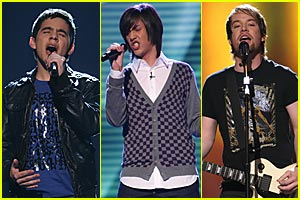 American Idol 7: Top 10 Guys -- CALL NOW!