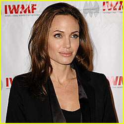 Angelina Jolie Jets to Jordan