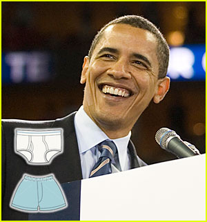 Barack Obama: Boxers or Briefs?