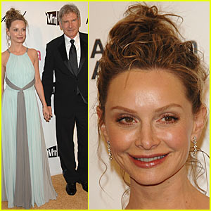 Calista Flockhart is the Life of the Party