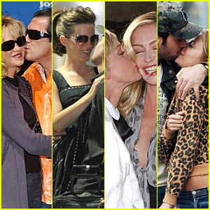 Celebrity Kisses -- MUAH!
