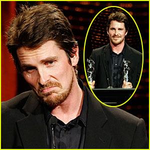 Christian Bale @ Costume Designers Guild Awards