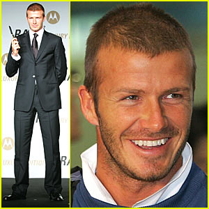 David Beckham's Korean Bonanza