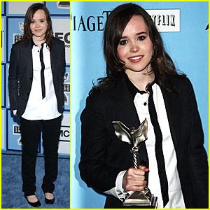 Ellen Page @ Film Independent's Spirit Awards