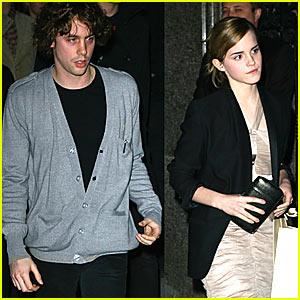 Emma Watson & Johnny Borrell: Unlikely Companions