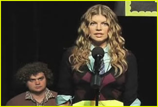 Fergie is a Spelling Bee Champ