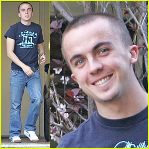 Frankie Muniz is a Benz Boy