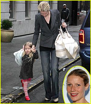 Gwyneth Paltrow Catches Adoption Bug