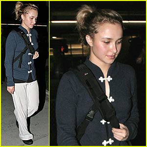 Hayden Panettiere is Asian-Inspired