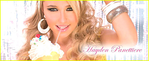 Hayden Panettiere For Candie's