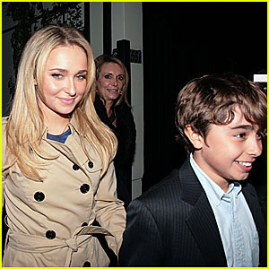 Hayden Panettiere's Perfect Valentine's Date... With Her Brother