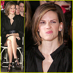 Hilary Swank @ NY Fashion Week