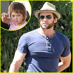 Hugh Jackman Looks Wolverine-Ready