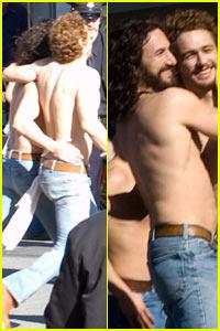 James Franco + Sean Penn = Lovers