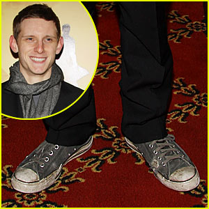 Jamie Bell Has Dirty Sneakers