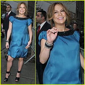 Jennifer Lopez @ NY Fashion Week