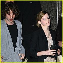Emma Watson: I'm Not Dating Johnny Borrell