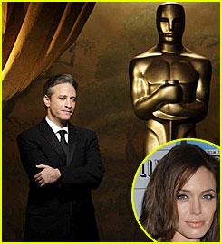 Jon Stewart Jokes About Angelina Jolie