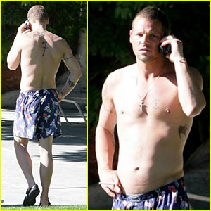 Justin Chambers Gets in Some Rest & Relaxation