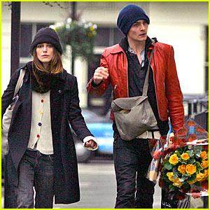 Keira Knightley's Friend-ly Valentine