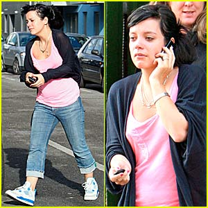 Lily Allen's Tearful Phone Call